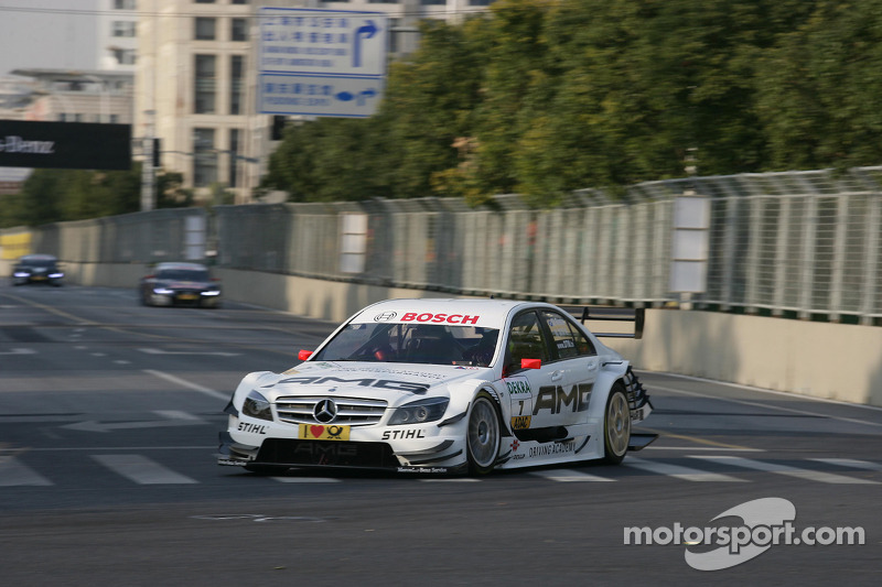 2010: Paul di Resta, Mercedes-AMG Clase-C, Team HWA