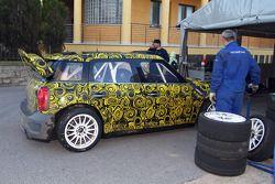 Mini Countryman WRC 25 test in Sassari, Sardinia