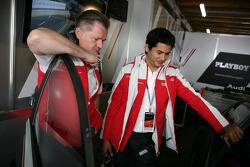 Alex Young, invité d'Audi Sport