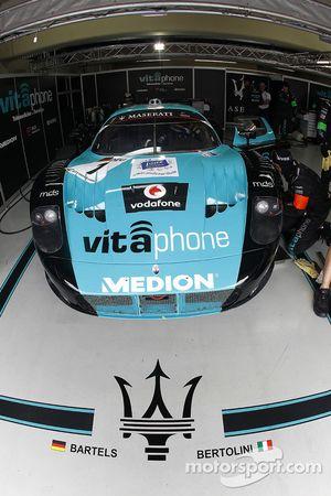 Vitaphone Racing pits