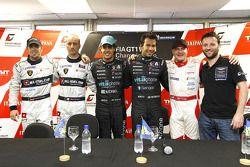 Polepositie voor Alexandre Negrao en Enrique Bernoldi, 2de Nicky Pastorelli en Dominik Schwager, 3de