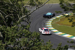 #2 Vitaphone Racing Team Maserati MC12: Alexenre Negrao, Enrique Bernoldi, #7 Young Driver AMR Aston