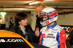 Michèle Mouton et Alain Prost