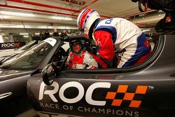 Tom Kristensen en Alain Prost