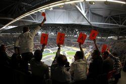 Des fans de Sebastian Vettel
