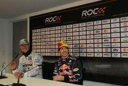 Conférence de presse : Michael Schumacher et Sebastian Vettel, vainqueurs de la Nations Cup, pour l'