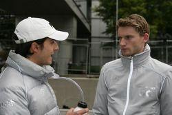 Bruno Spengler, Team HWA AMG Mercedes C-Klasse and Maro Engel, Mücke Motorsport, AMG Mercedes C-Klas