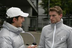 Bruno Spengler (Team HWA AMG Mercedes C-Klasse) et Maro Engel (Mücke Motorsport, AMG Mercedes C-Klasse)