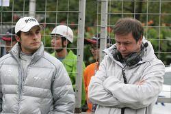 Bruno Spengler, Team HWA AMG Mercedes C-Klasse and Gerhard Unger HWA Mercedes