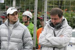 Bruno Spengler, Team HWA AMG Mercedes C-Klasse et Gerhard Unger, HWA Mercedes