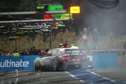 Pit stop for Oliver Jarvis, Audi Sport Team Abt Audi A4 DTM