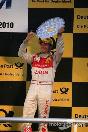 Podium: third place Timo Scheider, Audi Sport Team Abt