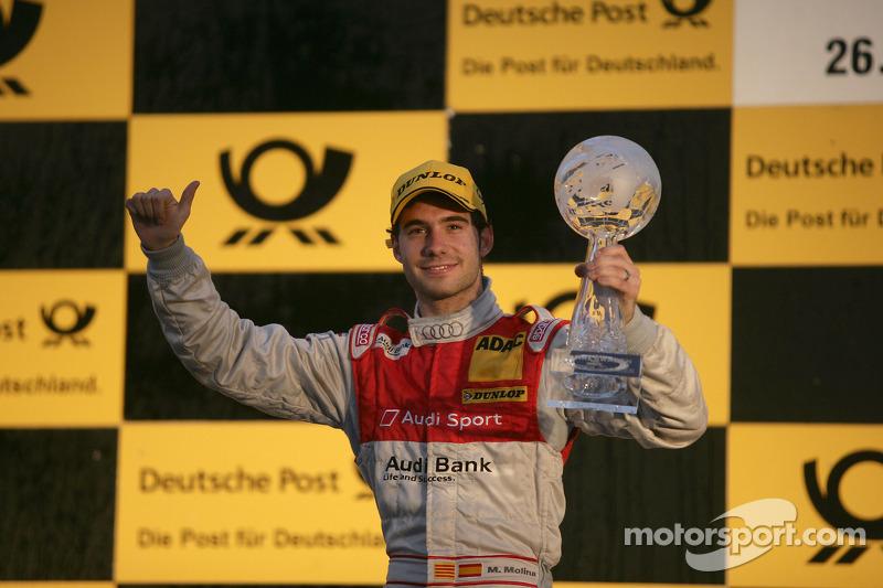 Rookie del año: Miguel Molina, Audi Sport Rookie Team Abt