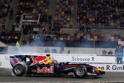 Sebastian Vettel dans la Red Bull
