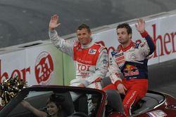 Tom Kristensen et Sébastien Loeb