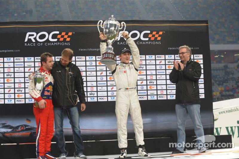 Campeón de la Race of Champions 2010: Filipe Albuquerque
