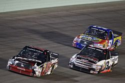 Kyle Busch, Johnny Sauter and Aric Almirola