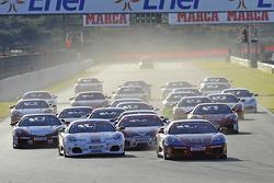 Ferrari Challenge Italia, race 1