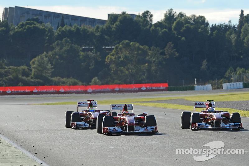Felipe Massa and Fernando Alonso