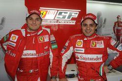 Felipe Massa, Giancarlo Fisichella