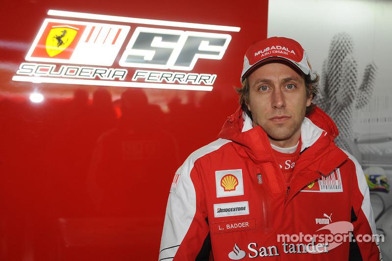 После десяти лет в роли запасного Лука Бадоер неожиданно получил боевой шанс в Ferrari из-за травмы Фелипе Массы. Итальянец дважды подряд стал последним в квалификациях и гонках, после чего покинул команду