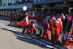Pit stop demonstration