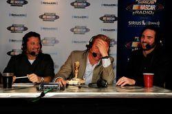 Tony Stewart, Clint Bowyer en Jimmie Johnson, Hard Rock Hotel & Casino
