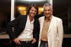Stéphane Ratel, SRO, en Alberto Rodriguez, SAA Gouverneur van provincie San Luis