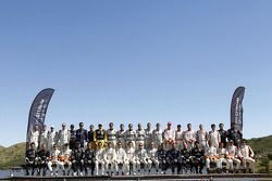 Photo de groupe : pilotes