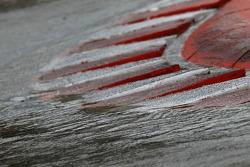 Pluie sur la piste