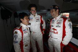 Seiji Ara, Henri Moser en Karl Wendlinger