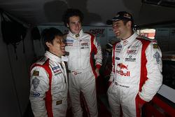 Seiji Ara, Henri Moser et Karl Wendlinger