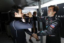 Enrique Bernoldi et Miguel Ramos