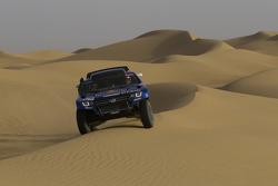 Volkswagen Motorsport: Carlos Sainz en Lucas Cruz Senra test de Volkswagen Race Touareg 3 in Marokko