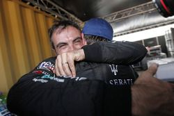 2010 FIA GT1 World kampioenen Andrea Bertolini en Michael Bartels