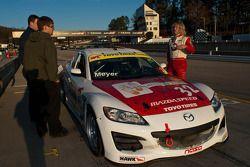 #32 XOWii Racing 2004 Mazda RX8 White: Jay Andrew, Eric Meyer