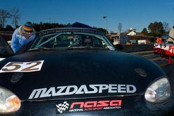 #52 GP Racing 1999 Mazda Miata Black/Si: Ryan Groth, Jason Pulvermacher