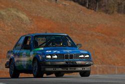 #87 Bimmerparts.com 1987 BMW 325is Blue/Gre: Jonathan Allen, Alastair McEwan, Rob D'Amico, Zane Gibbs