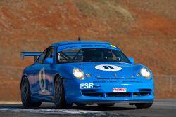 #8 Lucky Dog Racing 2005 Porsche GT3 Cup blue: Jack Baldwin, Sean Rayhall