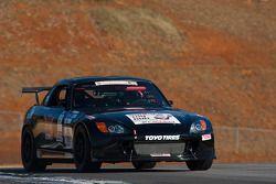 #28 Circle Heart Racing 2000 Honda S2000 Black: Ron Rigdon