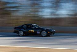 #675 Take A Break Motorsports 1988 Porsche 924S Black: R L Mitchell,Joe Sharrow, Geoffrey Knight