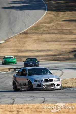 #148 Road Rage Racing 2002 BMW M3 Silver: Robert Gagliardo, Paul Prideaux, Ken Wilkinson, Joshua Smi