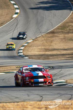 #3 VDS Racing Adventures 2007 Ford Mustang Red, whi: Raphael van der Straten, Christian Kelders, Chr