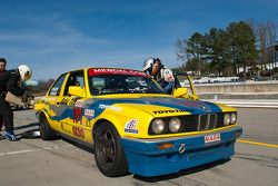 #191 Team Palacio Racing 1990 BMW 325i yellow/b: Arjun Soundararajan, Eric Palacio, Julio Palacio
