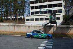 #88 Dominant Unit 1989 BMW 325I blue: Andrew Zimmermann, Tim Hannen