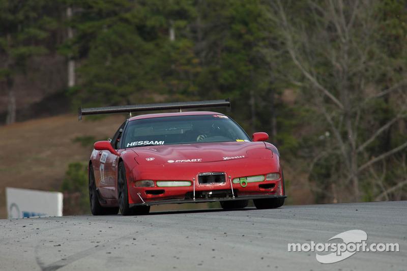 #17 Stimulus Racing 2001 Govern Corvette Brakeswa: Eric Wong, Walead Hessami
