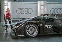 L'Audi R18 TDI 2011 en soufflerie