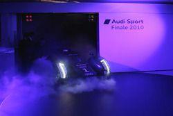 Présentation de l'Audi R18 TDI 2011