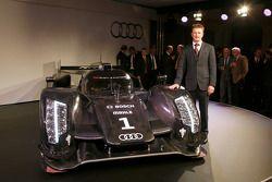 L'Audi R18 TDI 2011 avec Allan McNish