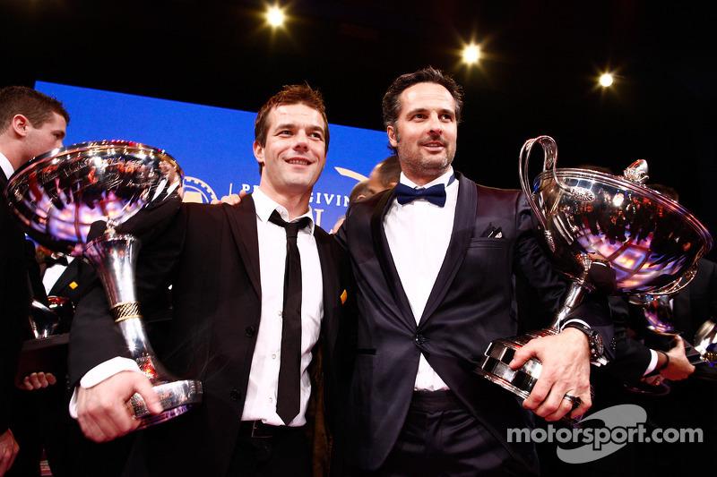FIA World Rally Champion Sébastien Loeb and FIA World Touring Car Champion Yvan Muller